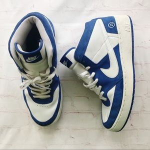 [Nike] Retro Fleet center blue/white sneaker 11.5